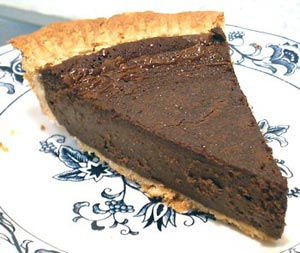 Chocolate Pie:  Fudge in a Crust