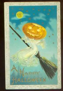 1920's Halloween Postcard
