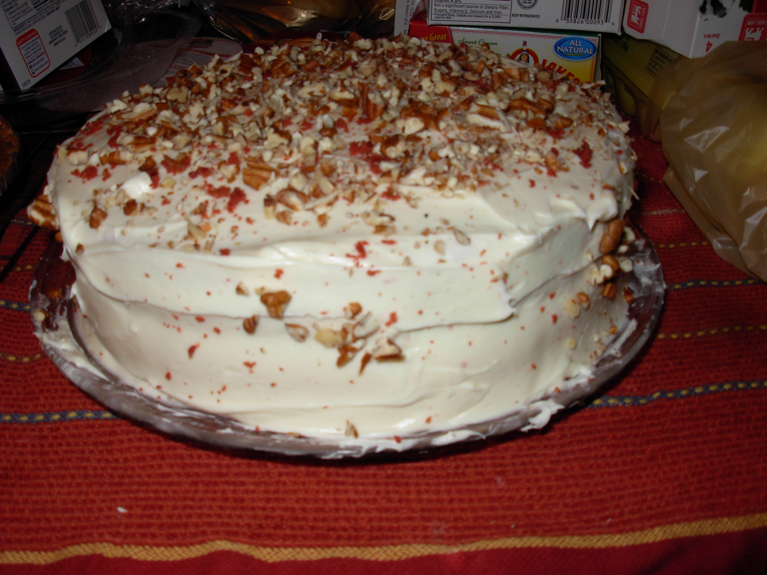 Red Velvet Cake Made With Beet Juice