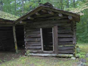 Smokehouse in Great Smoky Mountains National Park